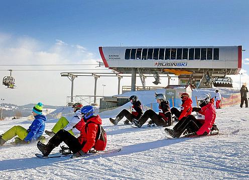 Rusiń - Ski